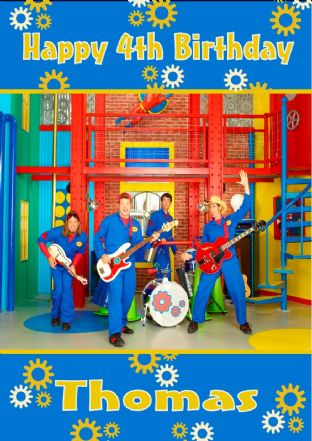 Personalised Imagination Movers Birthday Card Design 1